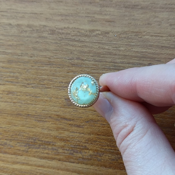 Jewelry - 3for$25 Ring with 24k gold flakes